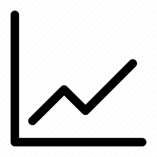 Business, chart icon, line chart, up chart icon - Download on Iconfinder