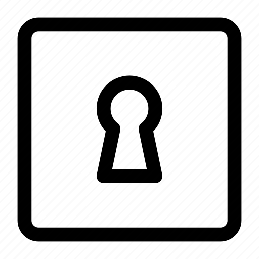 Key, key hole, lock icon icon - Download on Iconfinder