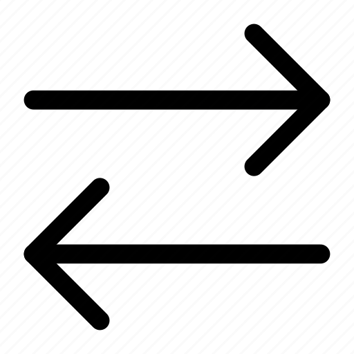 arrow, left, right icon icon