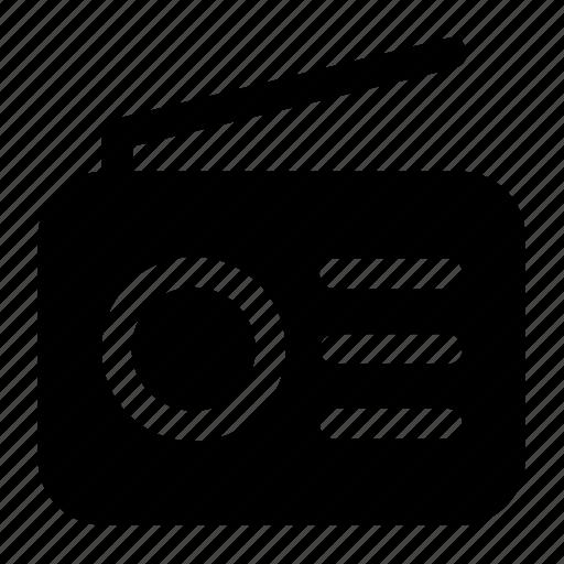 audio, radio, tool icon icon