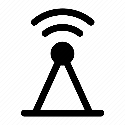 antenna, communication, signal, tower icon icon