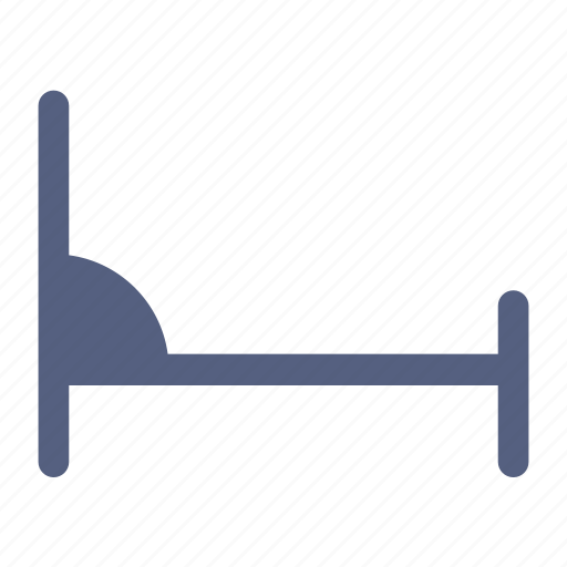 bed, bedroom, furniture icon icon