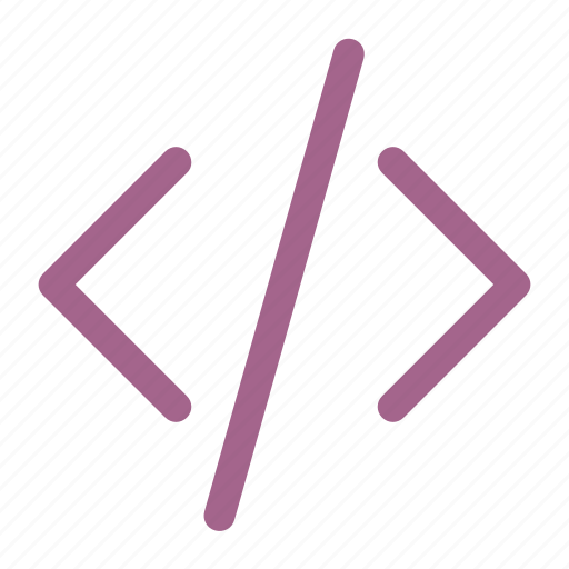 code, coding, html, web icon icon