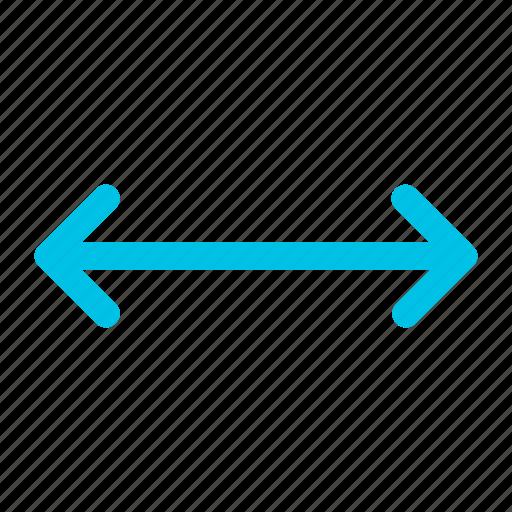 arrow, left, plain, right icon icon
