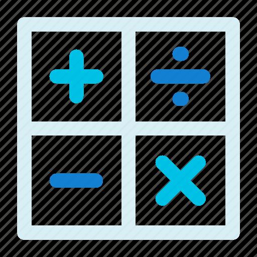 calculate, calculator, math icon icon
