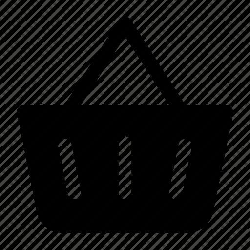 Basket, shopping, shopping basket, store icon icon - Download on Iconfinder