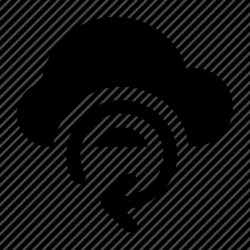 arrow, cloud, download, sync, upload icon icon