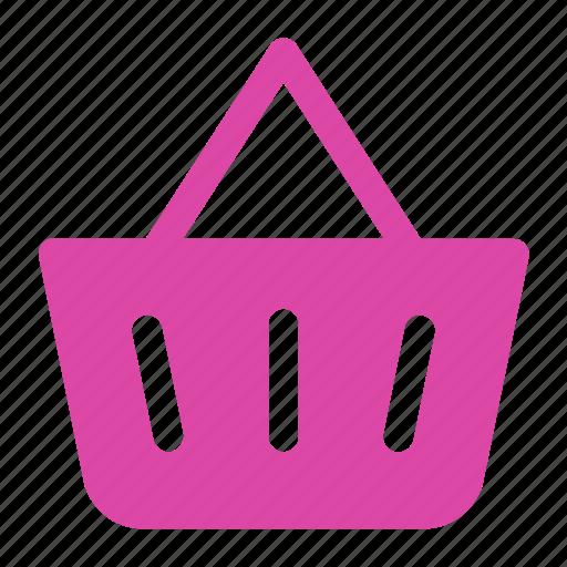 basket, shopping, shopping basket, store icon icon