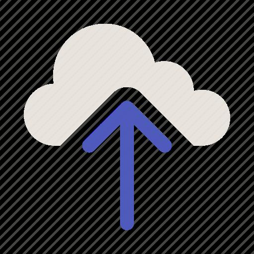 cloud computing, cloud upload, cloud uploading, upload, uploading icon icon