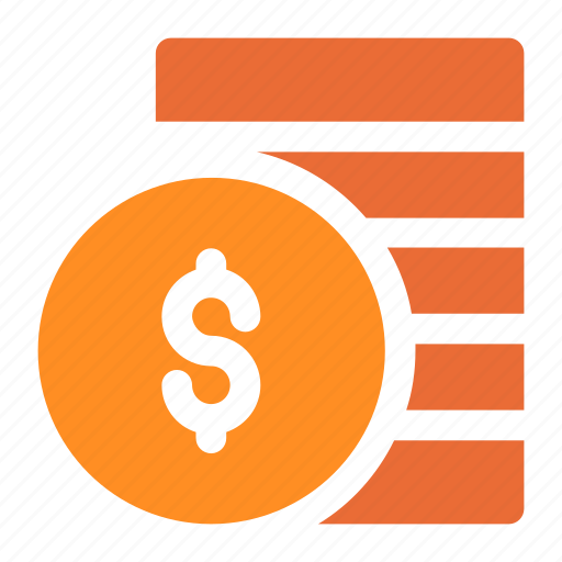 bank, banking, business, cash, cent, coin, coins, currency, dollar, ecommerce, finance, financial, money, payment, price, shopping, stack icon icon