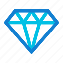diamond, ecommerce, jewelry icon icon