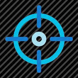 aim, hunt, hunting, scope, target icon icon
