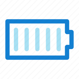 battery, full, simple icon icon
