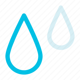 drop, humid, water icon icon