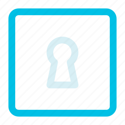 key, key hole, lock icon icon