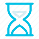glass, hour, time icon icon