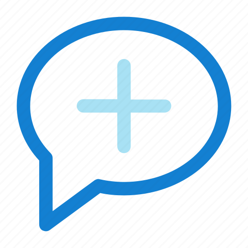 add, bubble, chat, comment, speech icon icon icon
