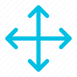 arrow, expand, full, screen, wide icon icon