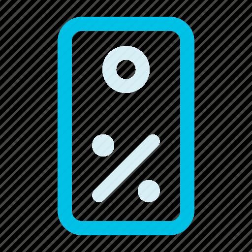 percent, percentage, sale, tag icon icon