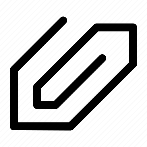 Attachment, clip, paper icon icon - Download on Iconfinder