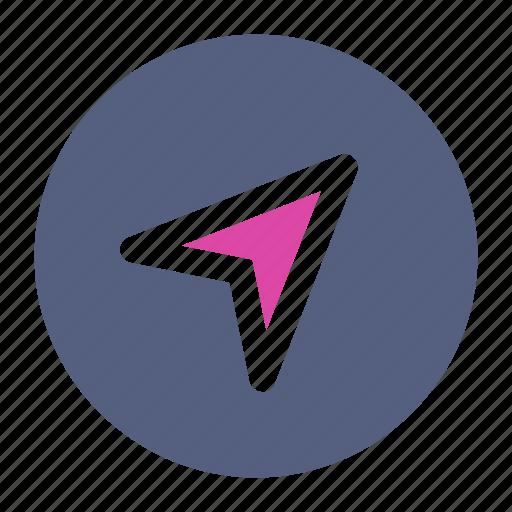 compass, direction, north icon icon