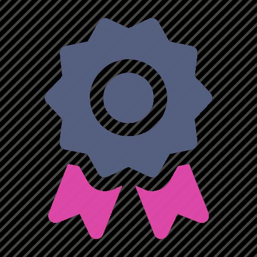 Award, award badge, award ribbon, badge, ribbon icon icon - Download on Iconfinder