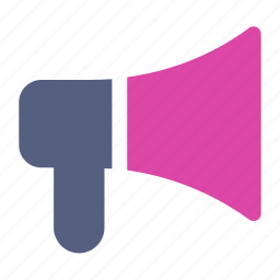 broadcast, communication, megaphone icon icon