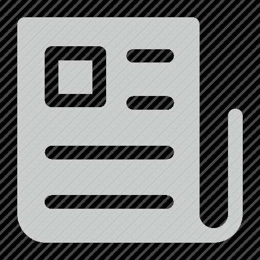 news, newspaper, paper icon icon icon