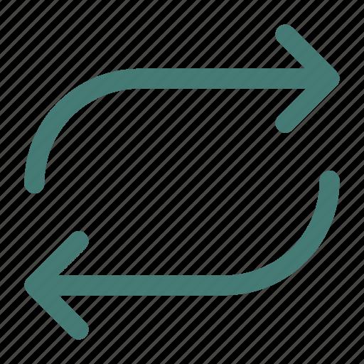 arrows, refresh, reload, retweet icon icon