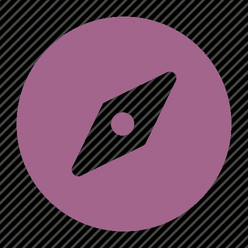 compass, explore, navigate icon icon