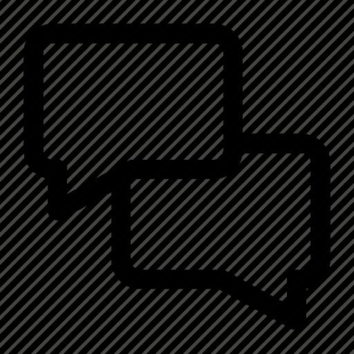 bubble, chat, conversaton, talk icon icon