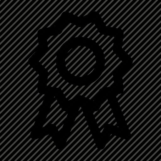 award, award badge, award ribbon, badge, ribbon icon icon