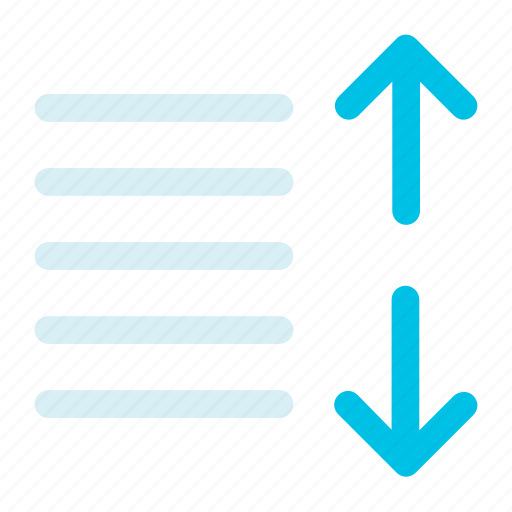 align, expand, text, up icon icon