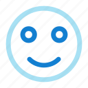 emoji, happy, smile, smiley icon icon