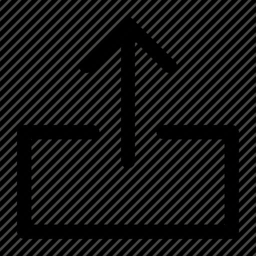 Arrow, upload, uploading icon icon - Download on Iconfinder