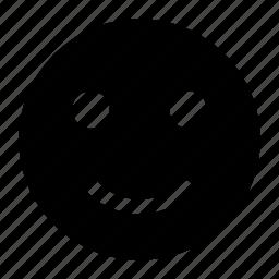 emoji, happy, smile, smiley icon icon