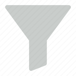 filter, funnel, sort icon icon