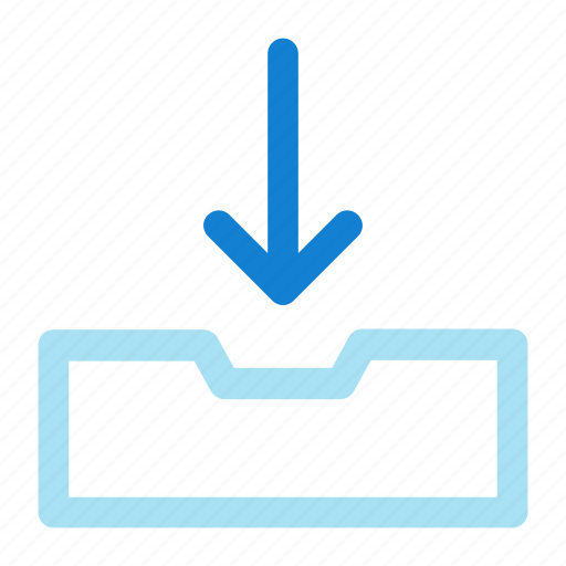 Arrow, down, download icon icon - Download on Iconfinder