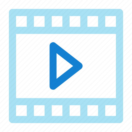 film, movie, pause, video icon icon