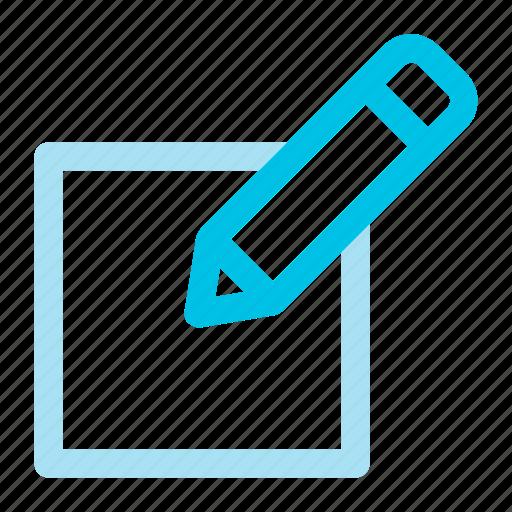 change, edit, pencil icon icon