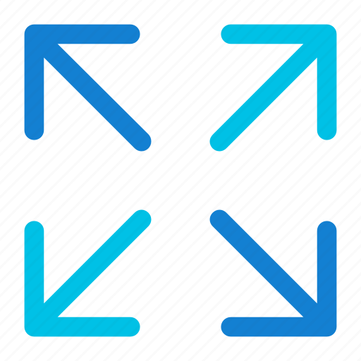 arrows, expand icon icon