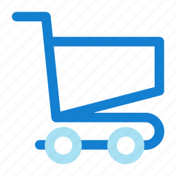 cart, empty, shopping icon icon