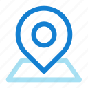 location, pin icon icon