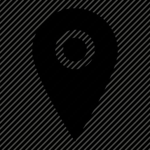 location, marker, pin icon icon