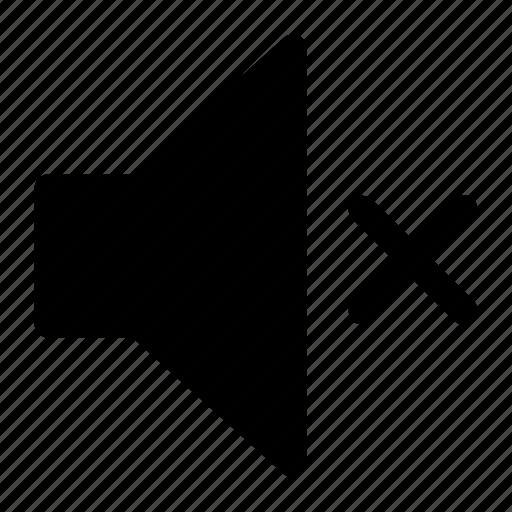 audio, mute, spaker icon icon