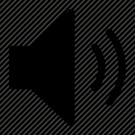 audio, music, speaker, volume icon icon