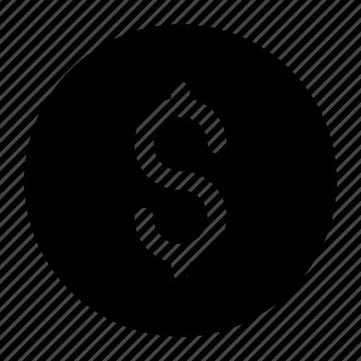 coin, dollar, sign icon icon