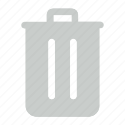 bin, empty, recycle, recycle bin icon icon