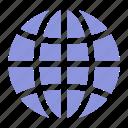 globe, languages icon