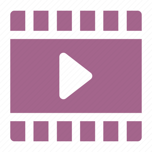 film, movie, pause, video icon icon